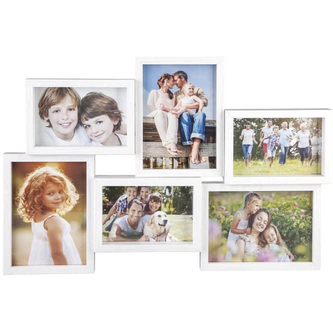 Bildergalerie für 6 Fotos - aus Holz - 61 x 32 x 3,5 cm