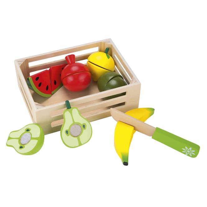 Besttoy - Holzkörbchen - Früchte Set 1