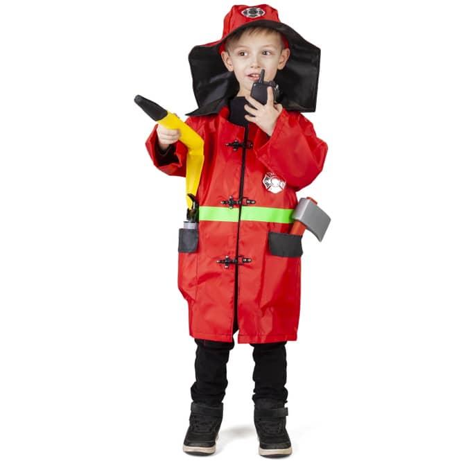 Kostüm - Feuerwehrmann - für Kinder - 5-teilig