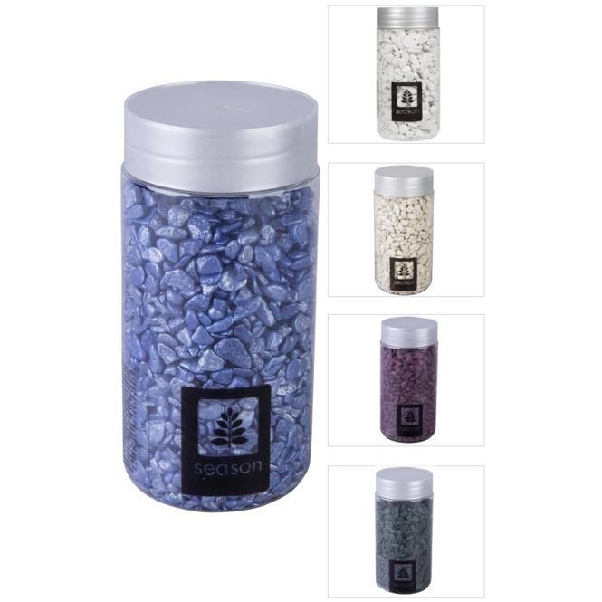 Dekosteine - grob - 550 g - verschiedene Farben