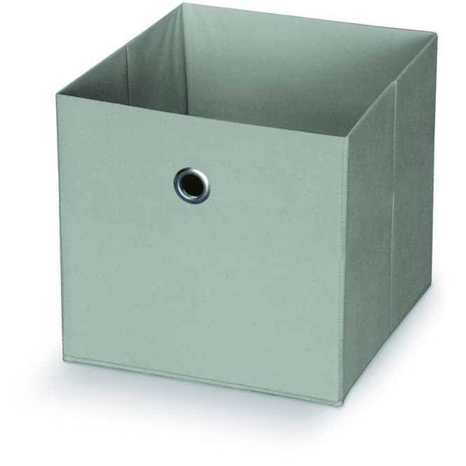 Aufbewahrungsbox - aus Stoff - 25 x 25 x 25 cm - verschiedene Farben