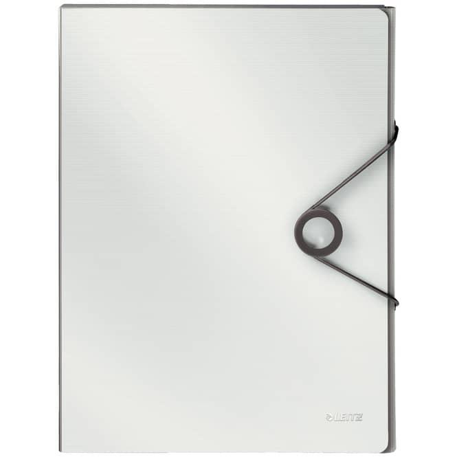 Heftbox DIN A4 - Solid - weiß