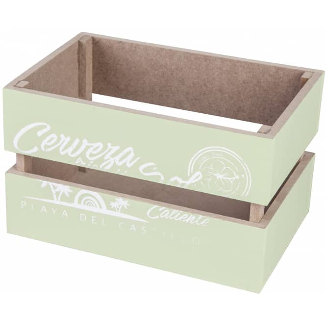 Deko-Kiste - aus Holz - grün - verschiedene Größen