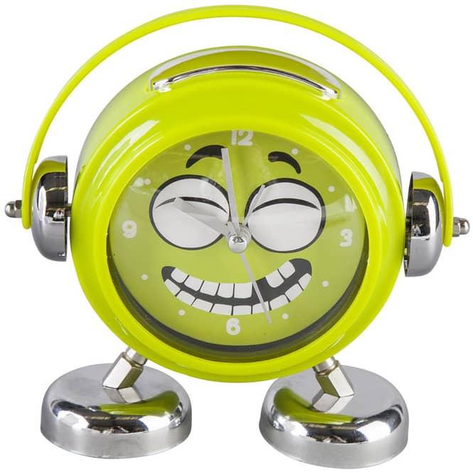 Wecker - für Kinder - Ø = 14 cm - in grün