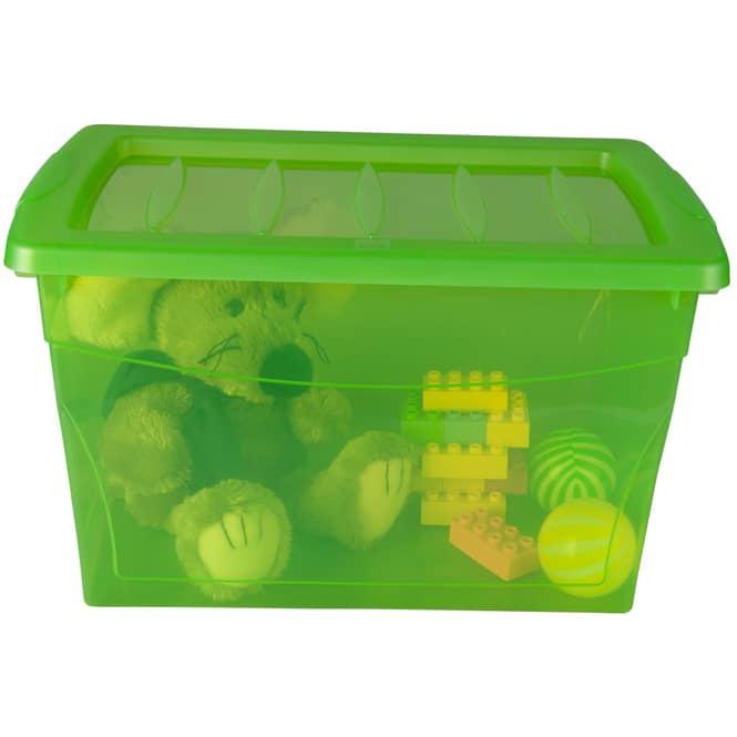 Ordnungsbox - 16 Liter - grün grün