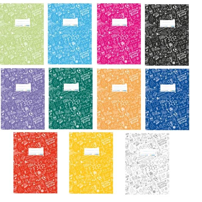 Heftschoner A4 Schoolydoo von Herma verschiedene Farben
