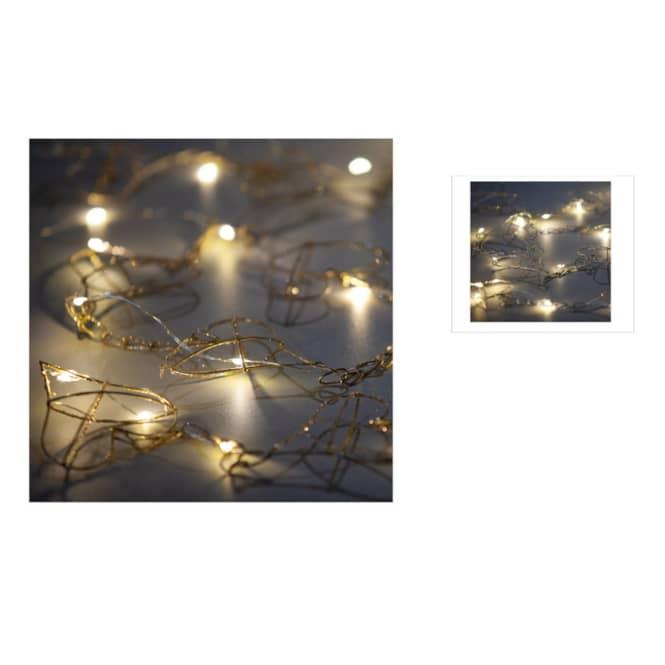 LED-Girlande - Herzen - 150 x 7,5 cm - 1 Stück