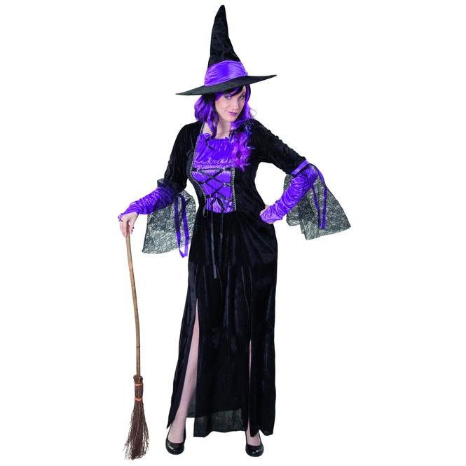 Kostüm - Hexe - für Erwachsene - 2-teilig