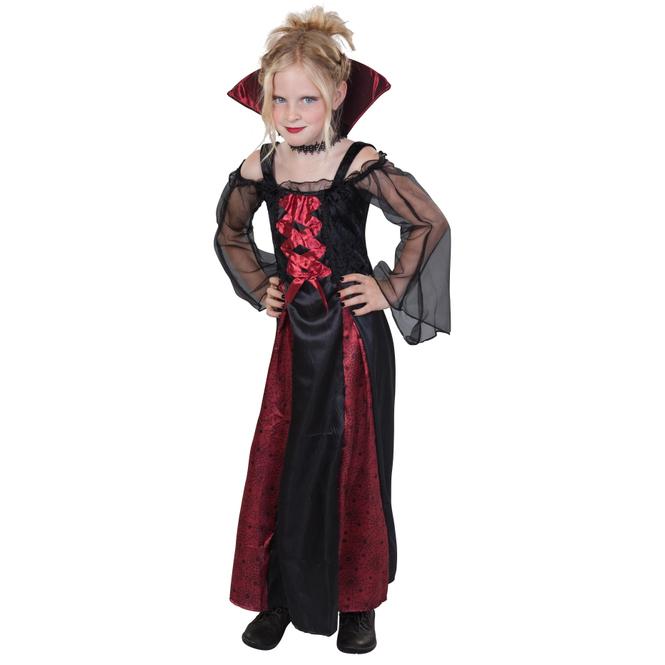 Kostüm - Vampirmädchen, für Kinder - 2-teilig