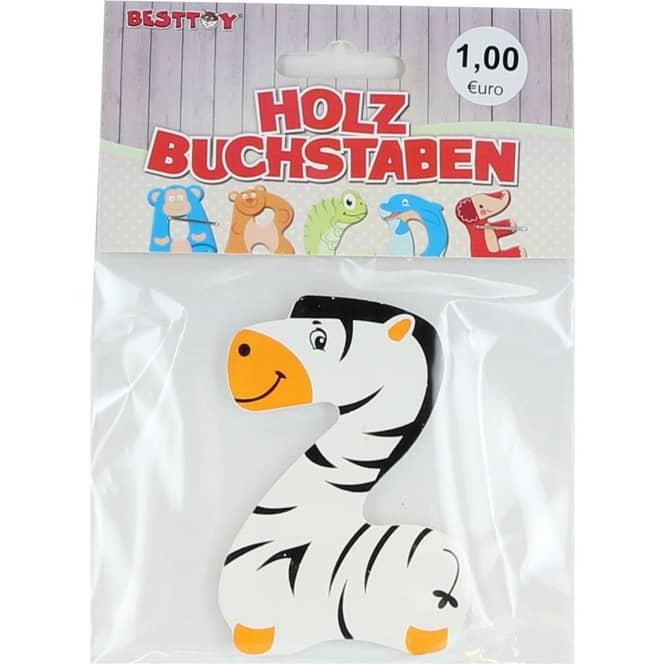 Besttoy - Holzbuchstabe - Z - weiß
