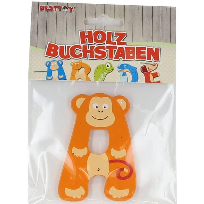 Besttoy - Holzbuchstabe - A - orange