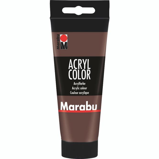 Marabu - Acryl Farbe - Mittelbraun - 1 Tube á 100 ml