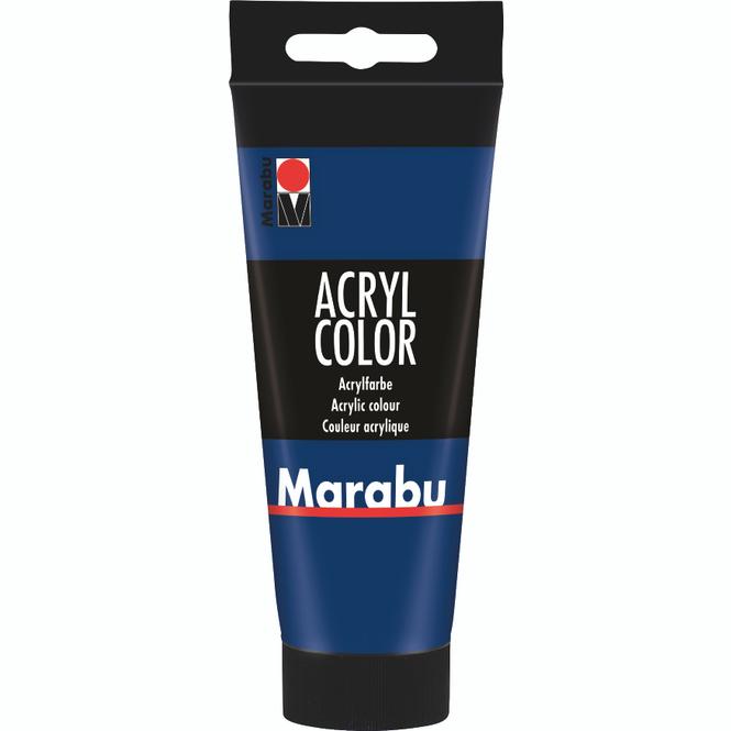 Marabu - Acryl Farbe - Dunkelblau - 1 Tube á 100 ml