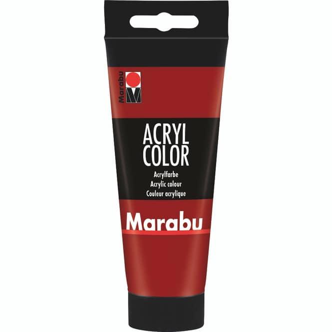 Marabu - Acryl Farbe - Rubinrot - 1 Tube á 100 ml
