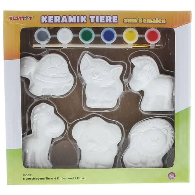 Besttoy - Keramik Tiere - Malset