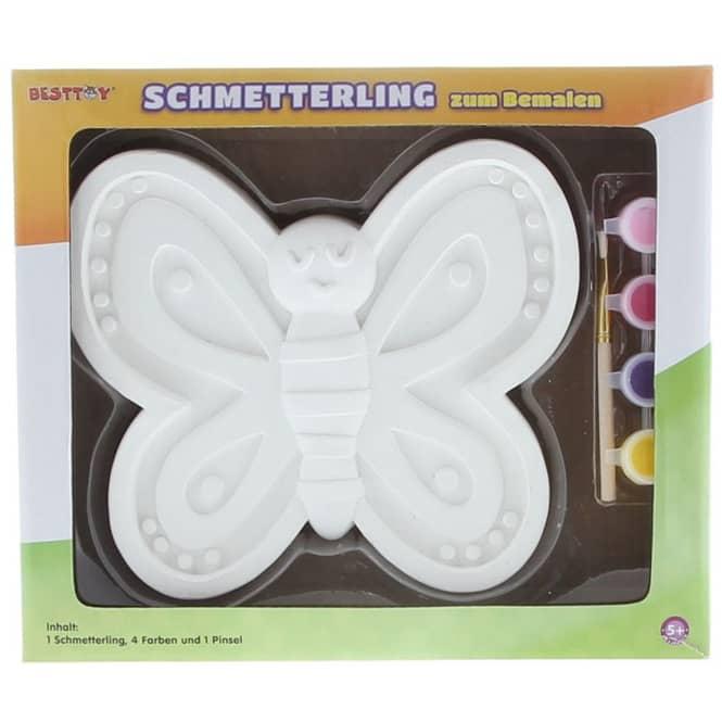 Besttoy - Keramik Schmetterling - Malset