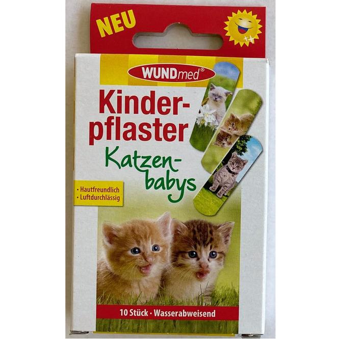 Kinderpflaster - Kitten