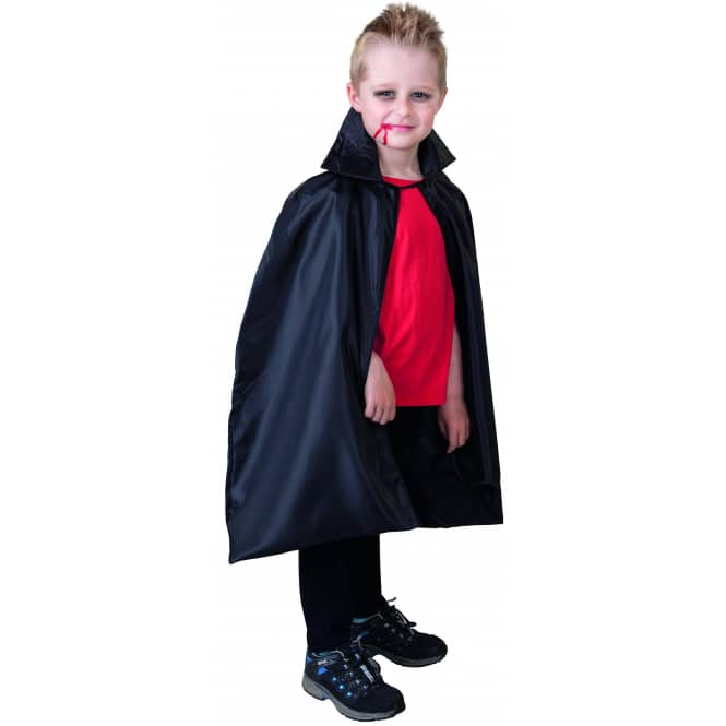 Cape - für Kinder - Vampir - Größe 110/116