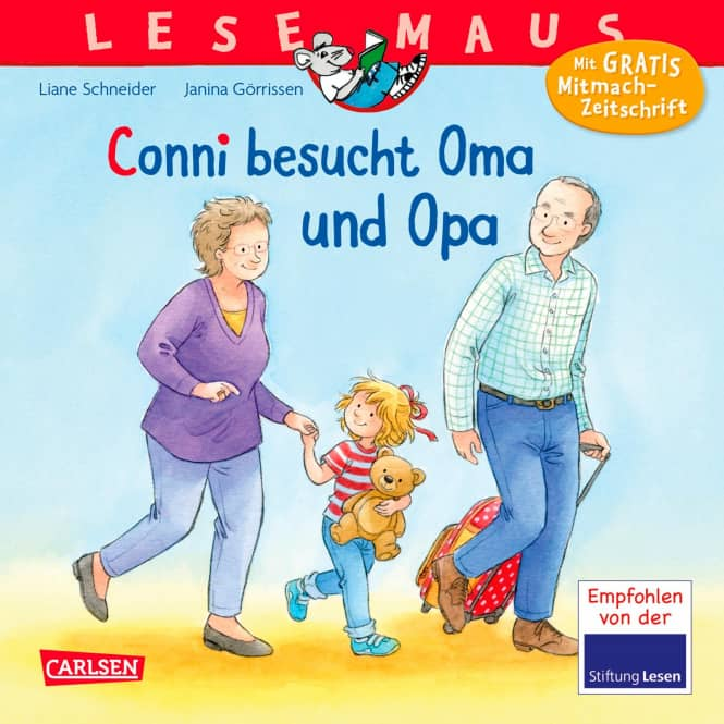 Conni besucht Oma und Opa - Lesemaus Band 69