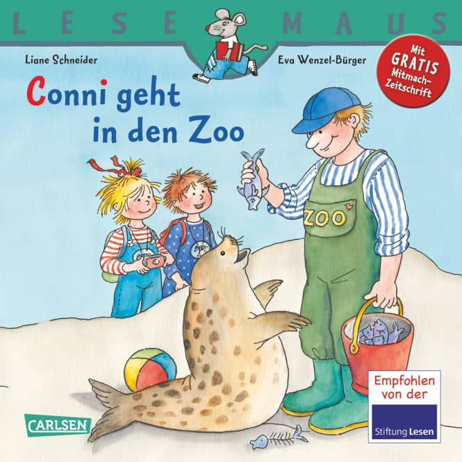 Lesemaus - Conni geht in den Zoo - Carlson