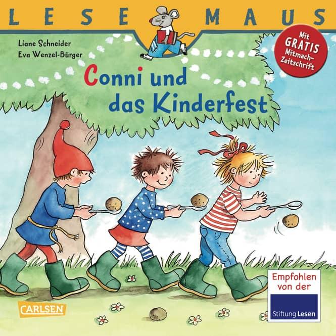 Lesemaus - Conni und das Kinderfest - Carlson