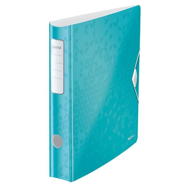 Leitz Ordner A4 Active WOW verschiedene Modelle und Farben, breit oder schmal schmal/eisblau
