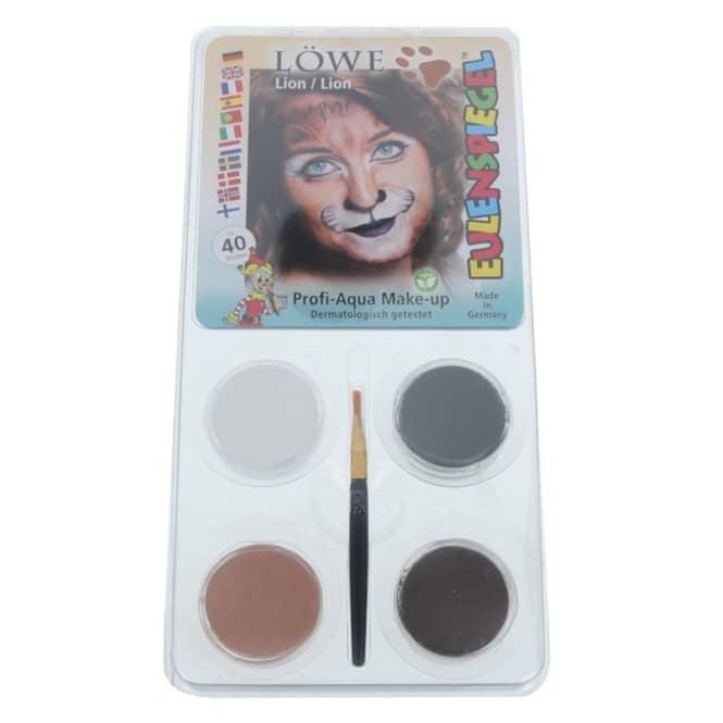 Schminkset - Löwe - Make-up mit Zubehör