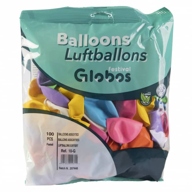Luftballons - bunt - 100 Stück