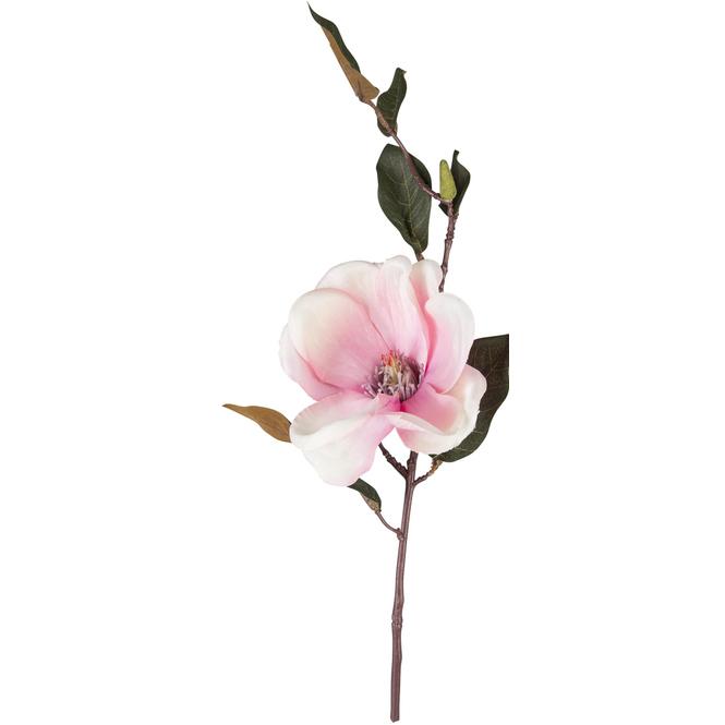 Magnolienzweig - 35 cm - pink/weiß