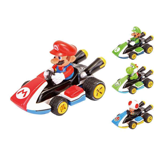 Super Mario (TM) - Mario Kart 8 Fahrzeug - verschiedene Ausführungen - 1 Stück