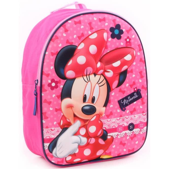 Minnie Mouse - 3D-Kinderrucksack - pink