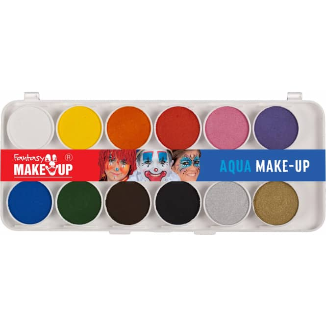 Schminkset - Fantasy Make-up - 12-teilig