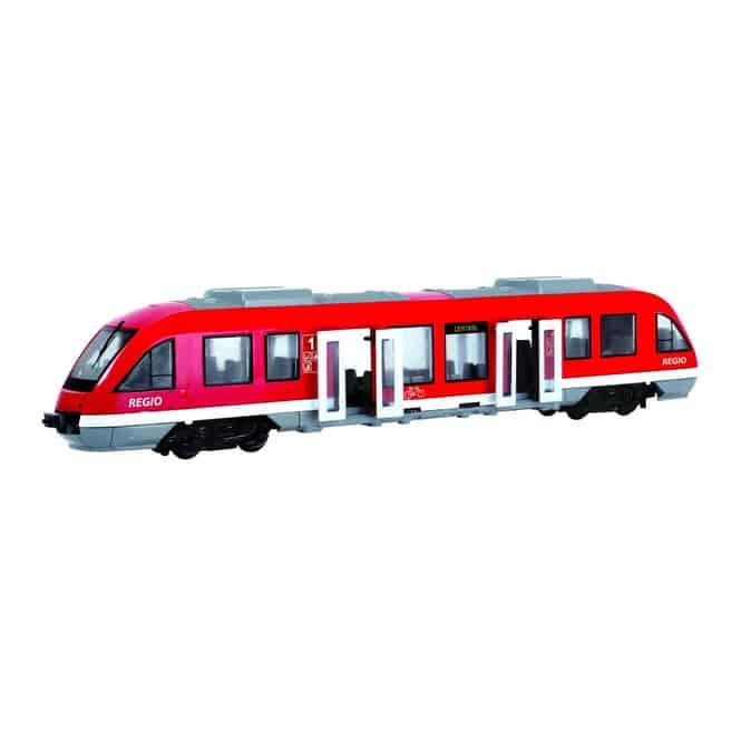 Straßenbahn rot-weiß-grau von Dickie