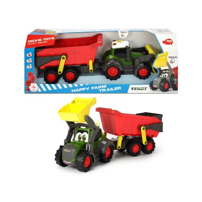 Dickie - Happy Farm Traktor mit Licht und Sound - ca. 65cm