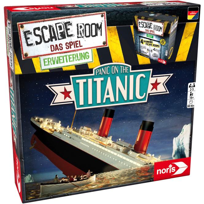 Escape Room - Das Spiel - Erweiterung - Panic on the Titanic
