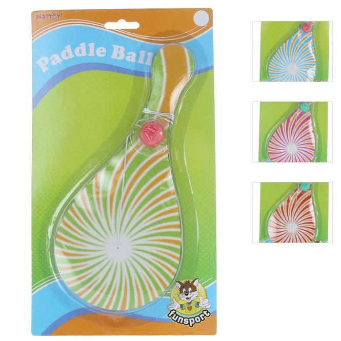 Paddleball-Spiel - 26 cm - 1 Stück