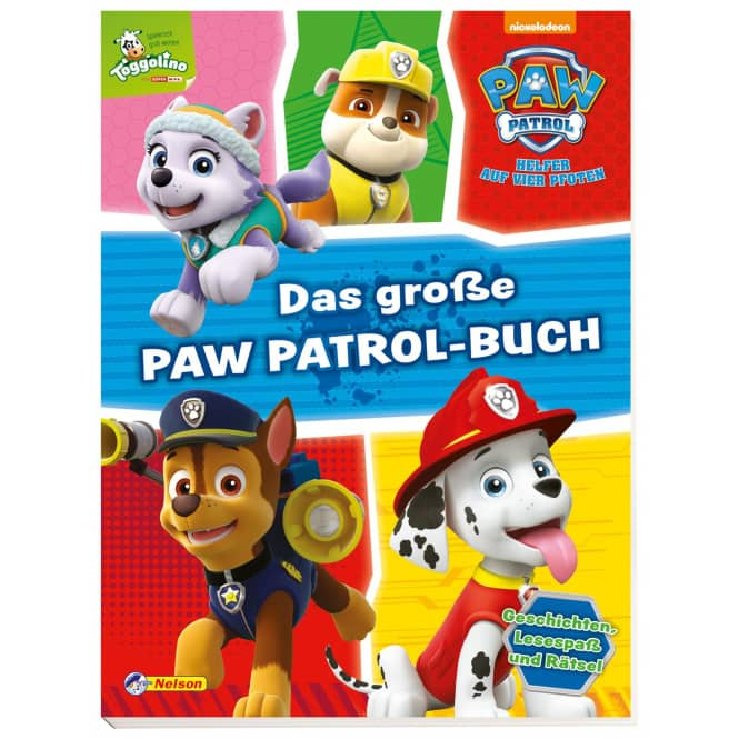 PAW Patrol - Das große Paw Patrol Buch
