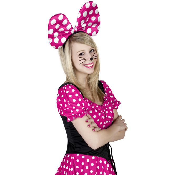 Haarreif - Maus - für Erwachsene - pink
