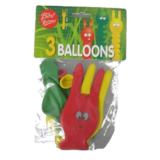 Luftballons - Raupe - 3 Stück