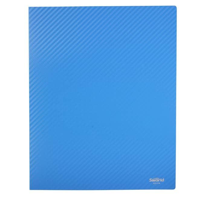 Ringbuch A4 - Carbon Design - Blau