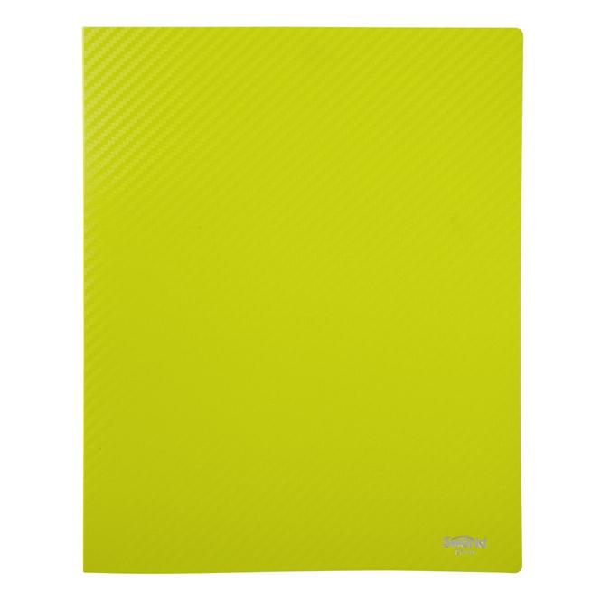 Ringbuch A4 - Carbon Design - Grün