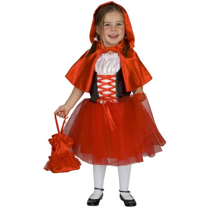 Kostüm - Rotkäppchen - für Kinder - 2-teilig - verschiedene Größen