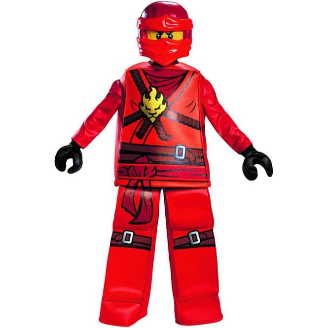 Lego® Ninjago-Kostüm - Kai Deluxe - 4-teilig