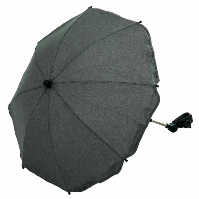 Sonnenschirm Melange grau, 50+-UV Schutz, von Micado