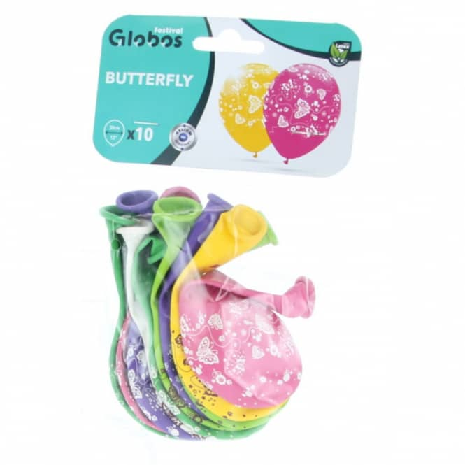 Luftballons - Schmetterlinge - 10 Stück