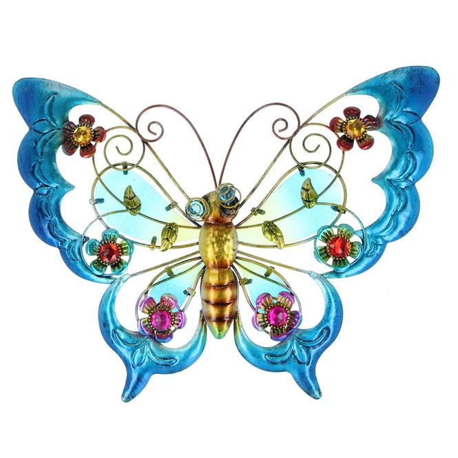 Wanddeko - Schmetterling - 39 x 3,5 x 29 cm