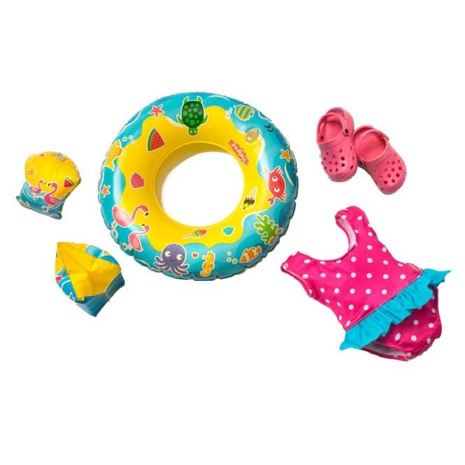 Puppen Schwimmset