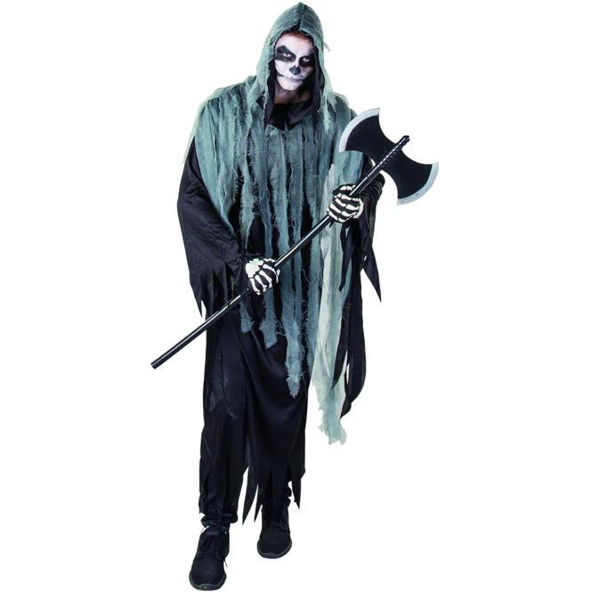 Kostüm - Skelett - für Erwachsene - Größe 52/54