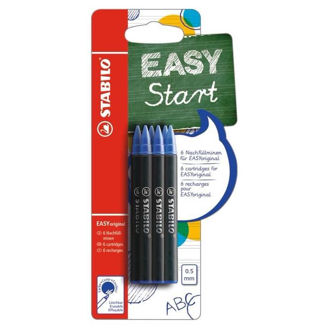 STABILO - EASY original - Nachfüllpatronen 6er Pack
