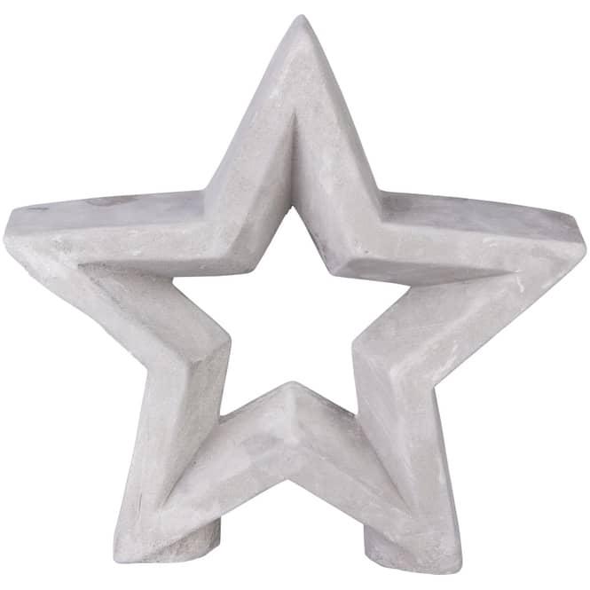 Stern - aus Zement - verschiedene Größen